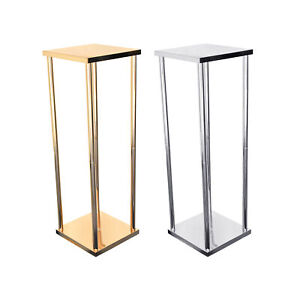 Metallic Pillar Centerpiece Stand, 30-Inch