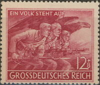Stamp Germany Mi 908 Sc B291 1945 WW2 Reich War Storm Trooper Soldier Army MNH