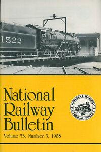 Railroad History - Frisco Mountain Type 4-8-2 + Centrer Entrance Cars + Keene NH