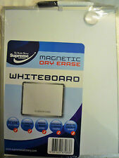 Supreme Stationary Aluminium Frame Magnetic Dry Erase Memo White Board & Pen