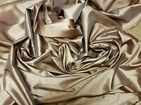 GOLD Faux Silk Slub Taffeta Fabric Wedding Dress Waistcoats Evening Party Wear