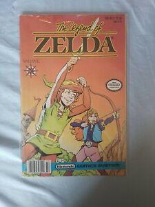 Legend of Zelda #1 (Feb 1990, Valiant) Nintendo Comic System
