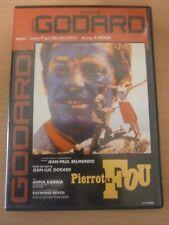 DVD - PIERROT LE FOU - BELMONDO - DE JEAN LUC GODARD - réf 52