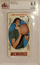 1969 Topps Basketball Lew Alcindor ROOKIE RC #25 BVG 6.5 EX-MT +.