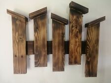 Rustic pallet wood fence wall décor handmade Home Art Natural Look Reclaimed