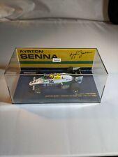 Ayrton Senna, 1983 Williams Ford FW08C, F1, 1:43 Minichamps