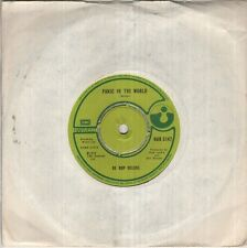 """BE BOP DELUXE Panic In The World  7"""" B/W Blue As A Jewel, Har 5147"""