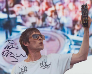 IAN BROWN - The Stone Roses GENUINE SIGNED AUTOGRAPH