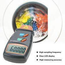 Digitaler Tachometer Drehzahlmesser LCD Laser Messgerät Berühungsloser