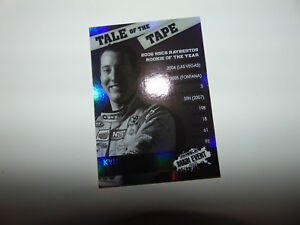 KYLE BUSCH Insert Set 2010 NASCAR Wheels Main Event Tale of the Tape GLOSSY M&M