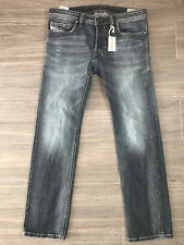 Diesel SAFADO W0885K size 33 W x 30 L Stretch Regular Slim Jeans *SALVAGED*
