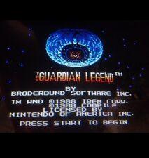 Nintendo Playchoice 10 The Guardian Legend Cart Pc-10