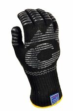Heat Resistant Oven Mitt Wood Stove Chiminea Camping Stovetop Cast Iron Pit Fire