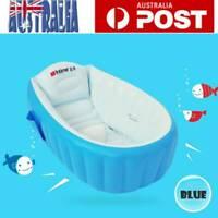 Foldable Newborn Baby Bath tub Toddlers Infant Child Portable Folding Bathtub AU
