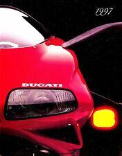 1997 DUCATI MOTORCYCLE BROCHURE-MONSTER 750/900-SUPERSPORT 900-SUPERBIKE 748/916