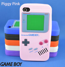 Gameboy Cover Case Fitted Skin Rubber Silicon for Apple iPhone 4 5 s
