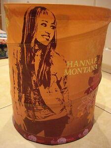 HANNAH MONTANA CONCERTINA WASTE PAPER BIN