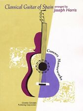 Classical Guitar of Spain Sheet Music Creative Concepts Publishing NEW 000315186