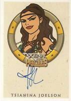 Hercules Xena Tsianina Joelson as Varia autograph auto insert trading card