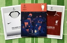 Reduced Champions League Final Programme Liverpool V Tottenham + Free Poster!