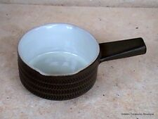 Denby-Langley Camelot Dark Green Older Double Spout Gravy England