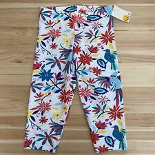NWT MINI BODEN Floral Capri Leggings Size 7-8Y