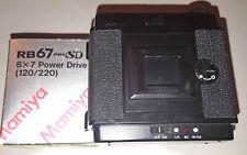 DOS MOTORISE 6X7 MAMIYA RB67 ProSD