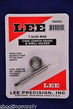 Lee Case Length Gauge & Shell Holder 7.5x54 French MAS #90051