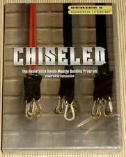 6-DVD - CHISELED SERIES 3 - Resistance Bands Muscle Building Program Bodylastics