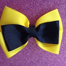 Emma Wiggle Bow  Approx 11 x 8 cm Made with Quality grosgrain Ribbon