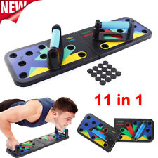 11 in 1 Foldable Push-up Board Stand Fitness Workout Gym Chest Muscle Training