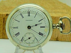 Antique Pocket watch Waltham Grade 825 18 size 17 jewel Model 1883 circa 1903
