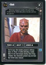 Star Wars CCG Coruscant Uncommon Chokk