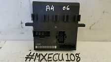 AUDI A4 B7 ON BOARD POWER SUPPLY UNIT CONTROL MODULE ECU 8E0907279K