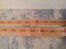 Vintage French Passementerie Braid Ribbon Trim Trimming ~ 4.75m - NOS