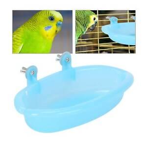 Parrot Bathtub Pet Cage Accessories Bird Budgie Bath Shower Box Cage Bathtub uk