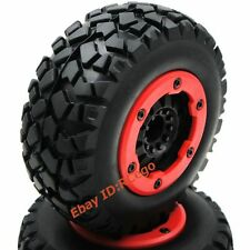 2pcs RC 1/10 short course Off Road Reifen tires 2.2/3.0 Felge wheels Hex 12mm