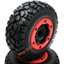 2pcs RC 1/10 short course Off Road Reifen tires 2.2/3.0 Felge wheels Hex 12mm