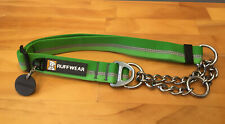 Ruffwear Chain Reaction Dog Collar Meadow Green Medium, Large Available