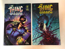 The Thing From Another World (1991) #1 & 2 (VF+) Complete Set Universal movie