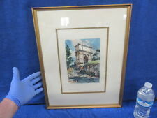 "Vintage Framed Print Roma Arco Di Tito 20"" x 16"""