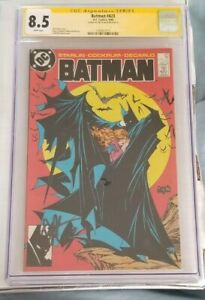 Batman #423 1st Print CGC SS 8.5 Signed by Jim Starlin 1988 Awesome Book!