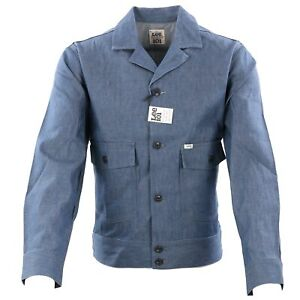 LEE 101 Herren Jeans Jacke CHETOPA Dry Indigo L97JM Größe M