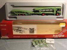 Herpa 806036 HO 1:87 Autotransporter HÖDLMAYR, grün, NEU, OK
