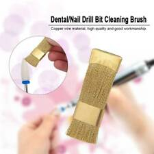 1Pc Dental/Nail Electric Manicure Bit Cleaning Clean Brush Cleaner Tool Drill