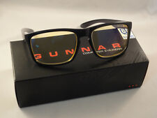 Gunnar Optiks Intercept Advanced Computer/Gaming Eyewear 24K - Obsidian - Amber