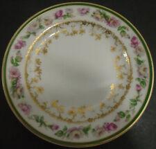 VINTAGE HAVILAND SCHLEIGER LIMOGES CHINA BREAD & BUTTER PLATE 497D LOT OF 10