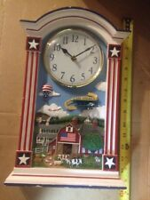 The Danbury Mint God Bless America Clock