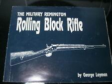 Military Remington Rolling Block Rifle by George J. Layman