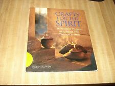 Awesome 2003 1st Edition book - Crafts for the Spirit by Ronni Lundy